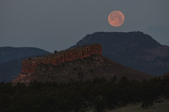 Moonset (auerbachphotography) Tags: colorado fullmoon moonset mountains sunrise
