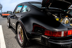 911 Turbo (tspottr723) Tags: hershey pa pennsylvania porsche swap meet 2018 concours 911 930 turbo outlaw black clean wide nikon d500 18200 pca porche club america