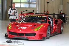 Ferrari GT2  458 front (Dag Kirin) Tags: ferrari gt2 458 front red rosso neon yellow pitlane challenge gt days 2018