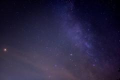Clouds of Earth and Space (reddog1975) Tags: mars saturn milky way space nikon d7100 star night sky astrophotography astronomy astro fuquayvarina northcarolina planet dark cloud