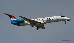 Embraer Emb 145 ~ LX-LGX  Luxair (Aero.passion DBC-1) Tags: dbc1 david biscove aeropassion avion aircraft aviation plane embraer emb 145 ~ lxlgx luxair spotting cdg roissy