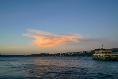 DSC01480 (Damir Govorcin Photography) Tags: sydney ferry sailing sunset water harbour boat clouds wide angle sony a7rii zeiss 1635mm natural light sky colour