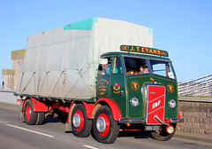 TV018696-Conwy. (day 192) Tags: conwy conwyroadrun llandudnofestivaloftransport roadrun lorry lorries wagon truck classiclorry vintagelorry preservedlorry erf ci6 erfci6 jtevans mbb222