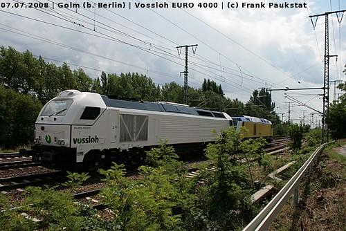 Vossloh EURO 4000 in Golm