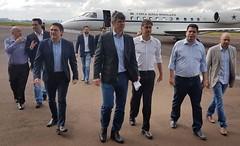 Anúncio das obras de reforma e ampliação do Aeroporto Municipal, em Cascavel.