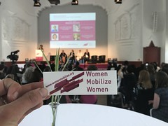 Women Mobilize Women kicks-off at Kongresshalle am Zoo