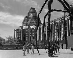 National Gallery of Canada (Howard Sandler (film photos)) Tags: nationalgalleryofcanada ottawa architecture blackandwhite film 6x9 folder franka rolfix schneiderkreuznach radionar delta xtol