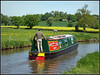 CLEE (Jason 87030) Tags: countryside pleasant field rape horse color colour yellow man boat water canal cut oxfordcanal warks cathiron warwickshire sunny light may 2018 braunston unioncanalcarriers clee hat trees weather