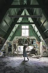 Nia (Eric Lampe') Tags: dilapidated forgotten abandonedplaces abandoned beauty model sonya7rii sonyimages sony urbanexplorationphotography urbex