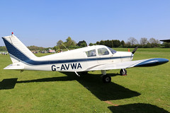G-AVWA (GH@BHD) Tags: gavwa piper pa28 cherokee cherokee140 warrior pophammicrolighttradefair2018 pophamairfield popham aircraft aviation
