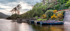Doolough boats (mickreynolds) Tags: 2018 boat comayo delphi doolough ireland lake mountain nx500 pier wildatlanticway may2018