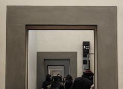 galleria degli uffizi (giovannaleal) Tags: galleria degli uffizi italia italy florence firenze museum renaissance gray perspective