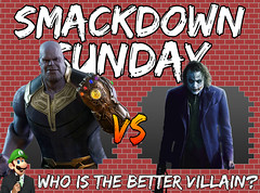 Smackdown Sunday- Thanos VS Joker | Who is the Better Villain? (Luigi Fan) Tags: thanos marvel cinematic universe mcu infinity war vs joker dc comics dark knight