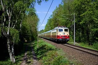 AKE E10 1309 + DPE98 Berlin Ostbahnhof - Potsdam - Ferch - Saarmund - Schönefeld - Ostbahnhof  - Geltow