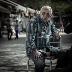 Waiting for tourists v2 (mfatic) Tags: man portrait turkish asiaminor ephesus street izmir turkey tr
