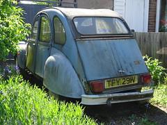 1979 Citroën 2CV6 (Neil's classics) Tags: vehicle 1979 2cv6 abandoned citroën