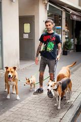 Dog Walker // Eviatar (STREET FASHION by Shay Segev) Tags: dogwalker telaviv tel aviv dog street streetfashion streetstyle canon5dmarkii canon50mm14