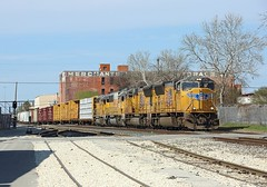 4775 + 5210 + 2155 + 1434, San Antonio TX, 13 March 2018 (Mr Joseph Bloggs) Tags: usa united states america texas tx san antonio up union pacific 4775 sd70m emd electro motive division gm general motors train bahn railway railroad