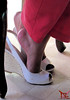On My Toes (Tania - wife (Claudio - husband/photographer)) Tags: high heels shoes mature sexy latina kapikua1 female woman wife amateur mexico milf fetish feet toes arch wedges opentoe peeptoe slingback pants tacones altos zapatos madura femenina mujer esposa fetiche pies dedos arco cuñas despuntado pantalones
