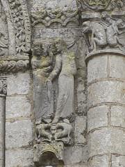 Abbaye de Saint-Jouin-de-Marnes (79) (Yvette G.) Tags: saintjouindemarnes deuxsèvres 79 nouvelleaquitaine poitoucharentes architecture église artroman abbaye sculpture