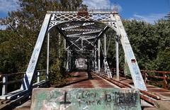 Aetnaville Bridge Wheeling, WV3 (Seth Gaines) Tags: westvirginia wheeling bridge abandoned