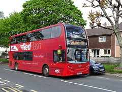 There In A Flash (Devon and cornwall Bus Spotter) Tags: plymouth citybus wf63lyx 513 enviro400 redflash southway there in a flash 42a