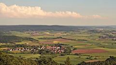 Naturpark Haßberge (kadege59) Tags: bayern franken unterfranken wow nikond3300 nikon deutschland d3300 germany europe europa landschaft landscape view sky excellent schwedenschanze naturparkhasberge hasberge