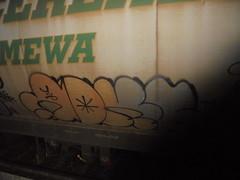 207 (en-ri) Tags: adks grigio arancione nero train torino graffiti writing treno merci freight throwup transcereales