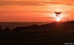 Sunset by drone (Steve Samosa Photography) Tags: billinge england unitedkingdom gb