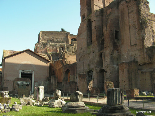 Римський форум, Рим, Італія InterNetri Italy 505