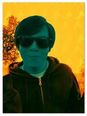 Blue portrait (Steven & Joey Thompson) Tags: blue portrait