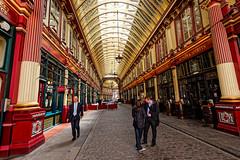 Leadenhall (Geoff Henson) Tags: people shops cafes restaurants precinct mall arcade market walkway pedestrian gallery london