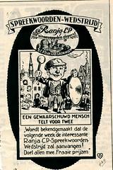 de stad Amsterdam 1923 adv Ranja (janwillemsen) Tags: advertising amsterdam 1923 magazineillustration