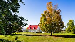 ile 2018-79 (Tasmanian58) Tags: aubin house ancestry orleansislans quebec canada light sun zeiss batis batis2818 sony a7ii