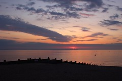 Sunset (NovemberAlex) Tags: clouds colour sunset whitstable kent silhouette water seaside