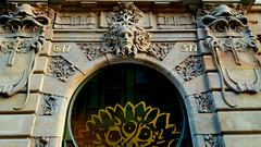 Art nouveau building on 28 October street in central Prague, Czech Republic. May 27, 2018 (Aris Jansons) Tags: prague praha czech česko czechia city capital 2018 jugendstil seccession relief decoration citypalais artnouveau