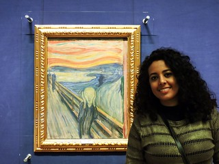 Skrik by Munch - National Gallery