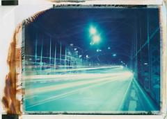 Lights at Hackerbrücke (Polaroid T669) (mmartinsson) Tags: 2018 night modelp bridge instantfilm hackerbrücke tungsten film 669 lighttrails expired mamiyasekor scan longexposure 75mm t669 epsonperfectionv700 polaroid cars mamiyauniversal analoguephotography münchen bayern tyskland de