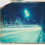 Lights at Hackerbrücke (Polaroid T669) thumbnail
