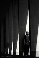 abir (mh.shoukhin) Tags: alone archicture bangladesh dailylife dark sadness blackwhite boy people weather light photography white life journey lonely love lonelytime