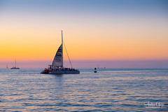 Another wonderful Key West sunset ** {image on Explore ♥ thanks} (Andrea Garza ~) Tags: florida keywest sailboat silhouette sunset cruise travel usa floridakeys gulfofmexico ocean sea peaceful island islandlife sealife boating water
