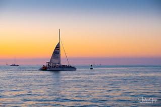 Another wonderful Key West sunset ** {image on Explore ♥ thanks}