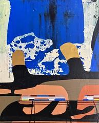 Jim Harris: The Kingdom of Gwent. (Jim Harris: Artist.) Tags: art arte painting himmel blue kunst konst schilderij jim harris futuristic wales gwent kingdom
