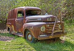 Ford Van (Runemaker) Tags: rusty ford van truck springdale utah
