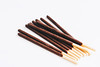 Chocolate sticks on white background. Crackers. (wuestenigel) Tags: bake dessert crunchy sweet stick roll cracker brown background snack biscuit 3d food flavor design isolated white wheat sugar crispy clipping closeup sticks tasty delicious chocolate cookie element eat fresh bread bakery nobody long pastry almond