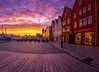 Bryggen, Bergen, Norway (Paulius Bruzdeilynas) Tags: bergen norway norge norwegian bryggen city sunset evening color spring magical sony sonyalpha sonya7ii