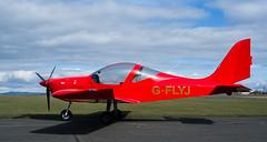 G-FLYJ Eurostar, Scone (wwshack) Tags: albaairsports egpt eurostar evector psl perth perthairport perthshire scone sconeairport scotland scottishaeroclub gflyj