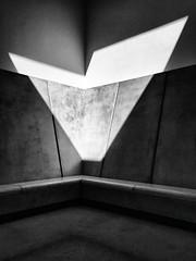 (Delay Tactics) Tags: yorkshire sculpture park ysp shadow light v black white bw james turrell deer shelter skyspace sun volk iron sky laibach nsk explore