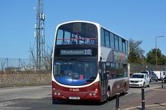 877 (Callum's Buses and Stuff) Tags: lothianbuses lothian bus buses b9tl busesedinburgh buseslothianbuses busesb9tl mader madder madderwhite madderandwhite edinburgh edinburghbus geminib9tl babertonb9tlvolvo volvo granton