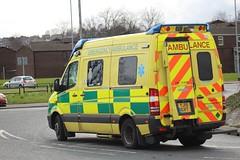 YJ15 GVT (Ben Hopson) Tags: west yorkshire ambulance service mercedes benz sprinter van was conversion 999 paramedics 2015 yj15 gvt yj15gvt